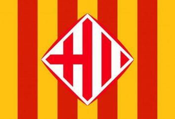 Bandiera Barcellona. Attrazioni e cucina locale