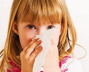 Entendemos como a criança lavar o nariz