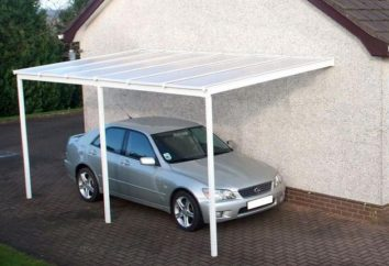Carport polycarbonate: parking villa idéale