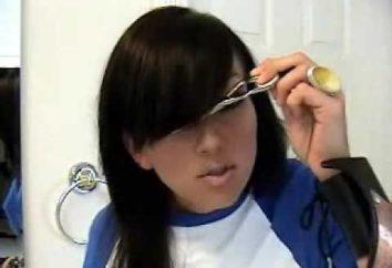 Comment couper votre frange sur le côté: l'instruction
