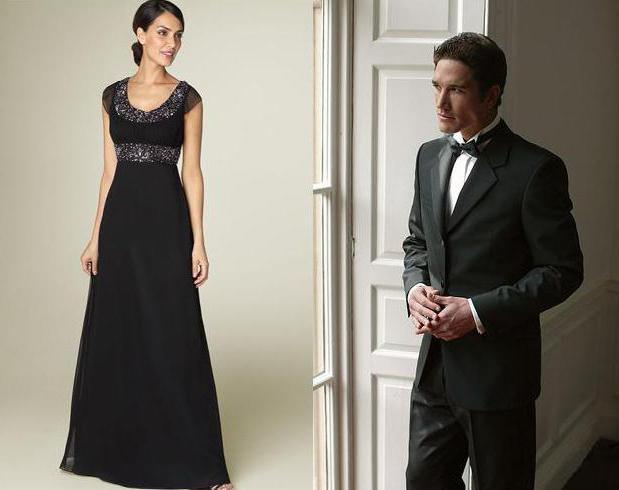 Dress code black tie significado