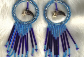 Orecchini unici dalle perline