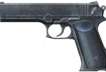 Pistolet « Pernach »: la description, le dispositif