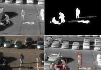Ele Faces Detecção utilizando sistemas de videovigilância. As pessoas algoritmo de busca