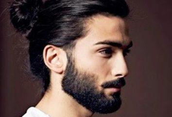 les gars à poil long. Coiffures pour cheveux longs sur les gars