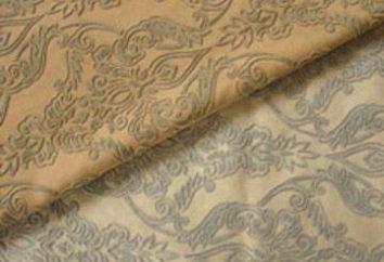 Textiles à l'intérieur: tissus floqués d'ameublement