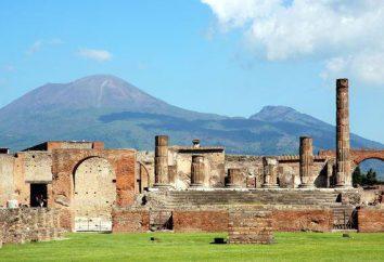 Pompei punkty orientacyjne. Zdjęcia z najciekawszych miejsc z opisem