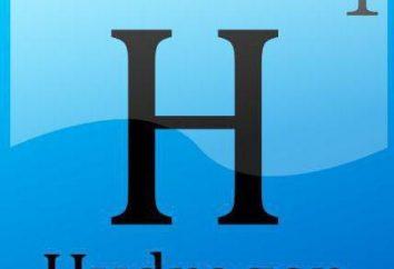 El diámetro molécula de hidrógeno, la estructura de fórmula. ¿Cuál es la masa de la molécula de hidrógeno?
