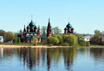 Lieu et année de fondation de Iaroslavl: versions et légendes