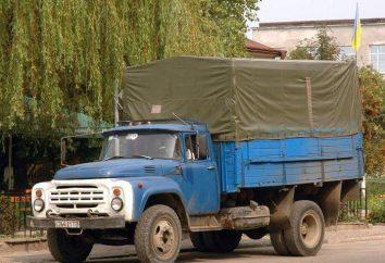Camión ZIL-431412. ZIL: autobuses y camiones