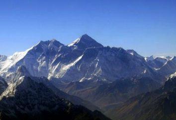 hauteurs vertigineuses du mont Everest