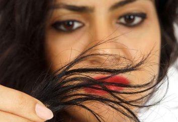 Maska do włosów, aby przywrócić zasilanie i improwizowany