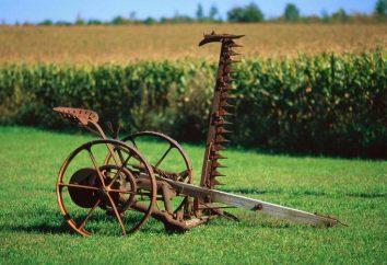 Kosiarki Koń: Liczba urządzeń. Jak zrobić kosiarki konnej z rąk?