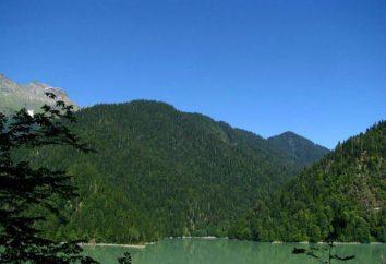 Dolina siedmiu jezior, Abchazja: opis, zabytki i recenzje