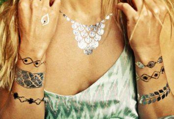 bracelets de tatouage pour les filles