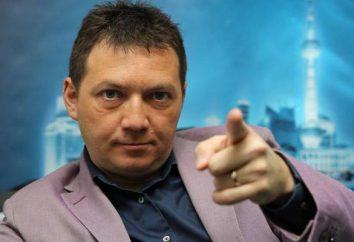 comentarista de fútbol Cherdantsev Georgy: biografía y foto