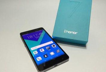 Huawei Honor smartphone 7: Opinie z właścicieli, opisy, specyfikacje i przeglądu