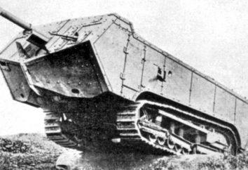 Os primeiros tanques da Primeira Guerra Mundial eo início de veículos blindados