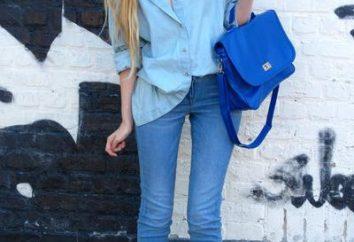 Von dem, was blaue Tasche tragen: eine Win-Win-Optionen für das stilvolle Bild