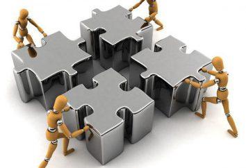 La méthode de regroupement: le concept et les types de groupes