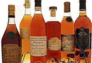 Il cognac è diverso dal marchio? Quale è migliore: il cognac o brandy. tipi di grappa