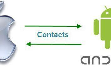 """Jak rzucić kontakty z """"Samsung"""" na iPhone: wskazówki i triki"""