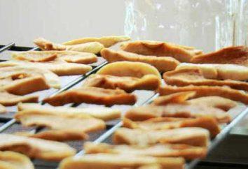 Comment faire pour sécher les pommes à la maison: les meilleures façons de