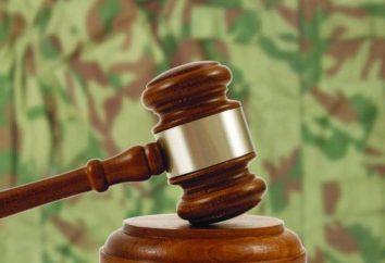 Garrison Tribunais: composição e mandato