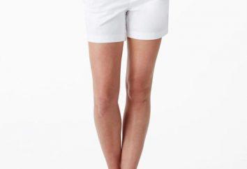 Por lo que a usar pantalones cortos clásicos de las mujeres