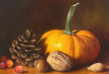 Piękny i ciepły jesienny martwa natura