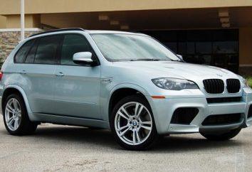 BMW X5M: szczegółowy opis modelu