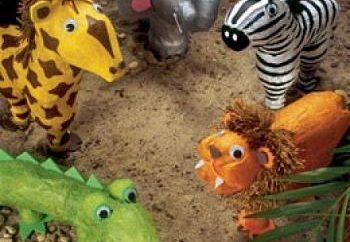 Animais de uma garrafa de plástico – ideias para crianças e adultos!