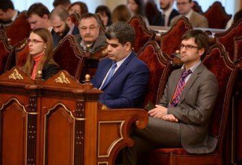 I corpi della comunità giudiziaria. Il sistema giudiziario della Federazione Russa – schema
