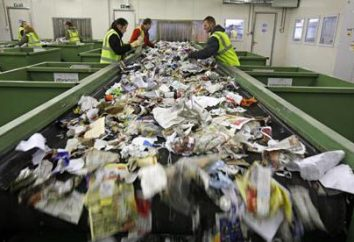 Klasa 5 odpadu: lista recyklingu