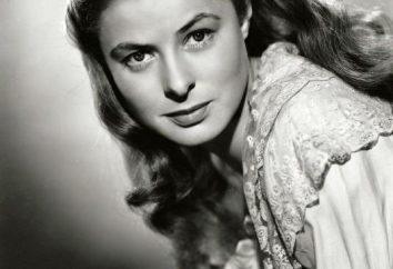 Aktorka Ingrid Bergman: biografia, życie osobiste, Filmografia