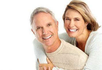 Anleitung, Beratung und Bewertungen: Wie für Zahnersatz Pflege