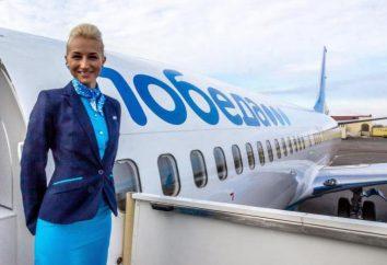 """Comentários sobre a companhia aérea """"Vitória"""": passagens aéreas e regras de transporte"""