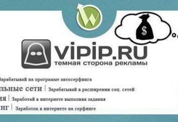 Vipip.ru: Bewertungen vor. Cheating oder Realeinkommen?