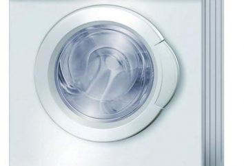 máquinas de lavar e secadoras: comentários e recomendações