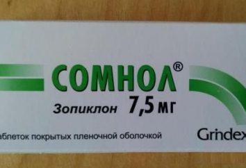 """Lek """"Somnol"""": instrukcję obsługi, analogi, opinie"""