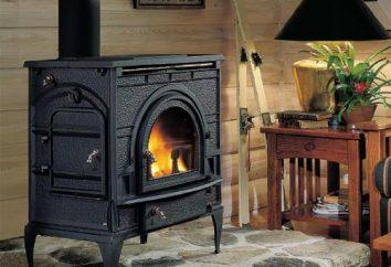 Fogão de ferro fundido para uma casa longa queima: comentários e revisão fabricantes