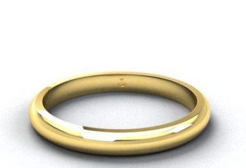 Was sollte den Ehering sein?