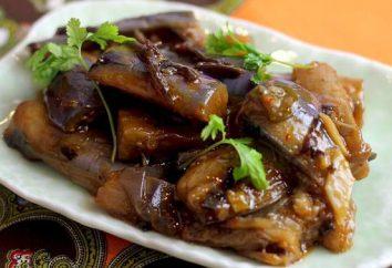 Aubergines comme des champignons. recettes de cuisine