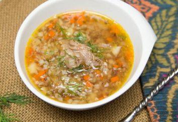Jak ugotować zupę z kurczaka bulionu gryka?