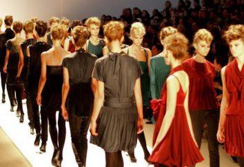 Moda przemysł: historia i stadia rozwoju