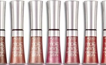 Lip Gloss de L'Oreal – el garante de la belleza y la perfección!