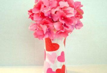 Wie eine Vase aus Papier zu machen. Wie man eine Vase aus Wellpappe machen