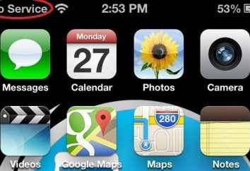 """""""IPhone"""" nie łapie sieci: co robić?"""