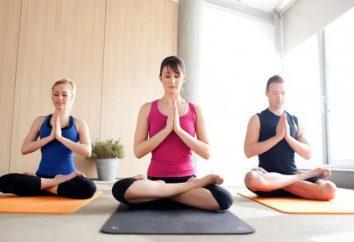 Centres de Yoga à Moscou, adresse, notes, commentaires