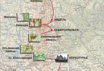 Ridge Kvarkush Zhigalanskie e cascate – attrazioni Perm Krai